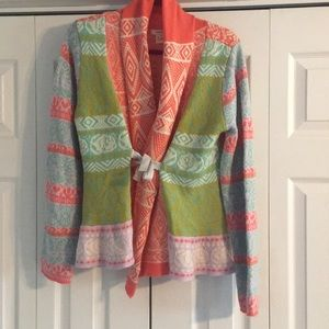 Beautiful Sundance sweater/cardigan
